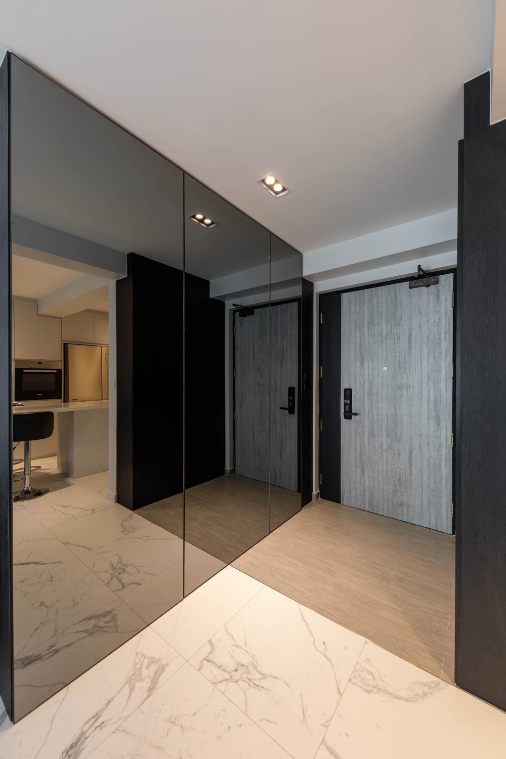 Contemporary, HDB, Edgedale Plains, Interior Designer, Tid Plus Design