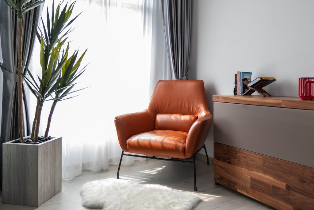 Contemporary, HDB, Living Room, Yishun Street 51, Interior Designer, Tid Plus Design