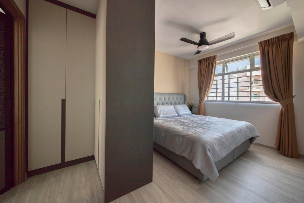Contemporary, HDB, Bedroom, Bukit Batok West Avenue 6, Interior Designer, Tan Studio, Modern