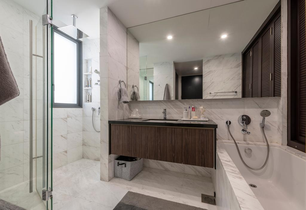 Contemporary, Condo, Bathroom, The Arte, Interior Designer, Colourbox Interior