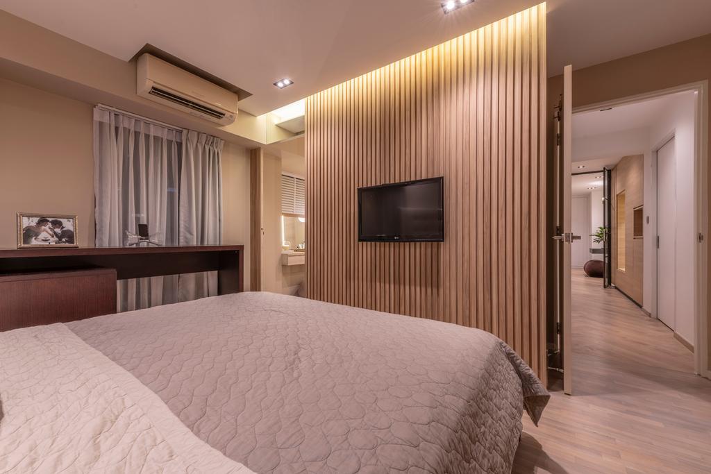 Contemporary, HDB, Bedroom, Pinnacle @ Duxton, Interior Designer, Posh Home