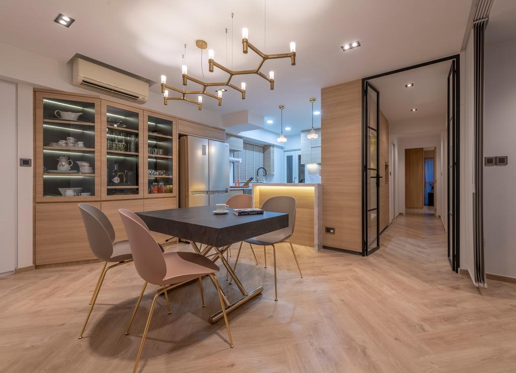 Contemporary, HDB, Pinnacle @ Duxton, Interior Designer, Posh Home