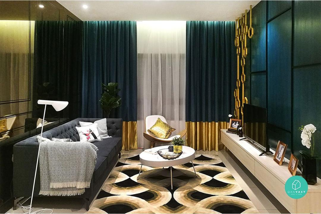 Metallic Features Interior Design Malaysia 1