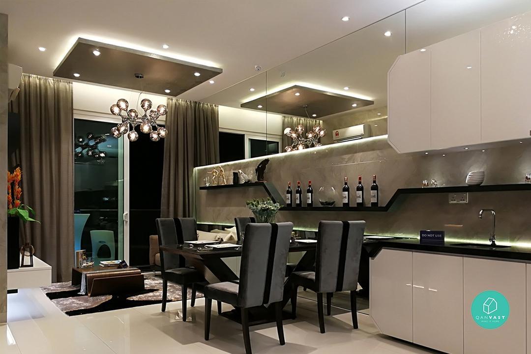 Metallic Features Interior Design Malaysia