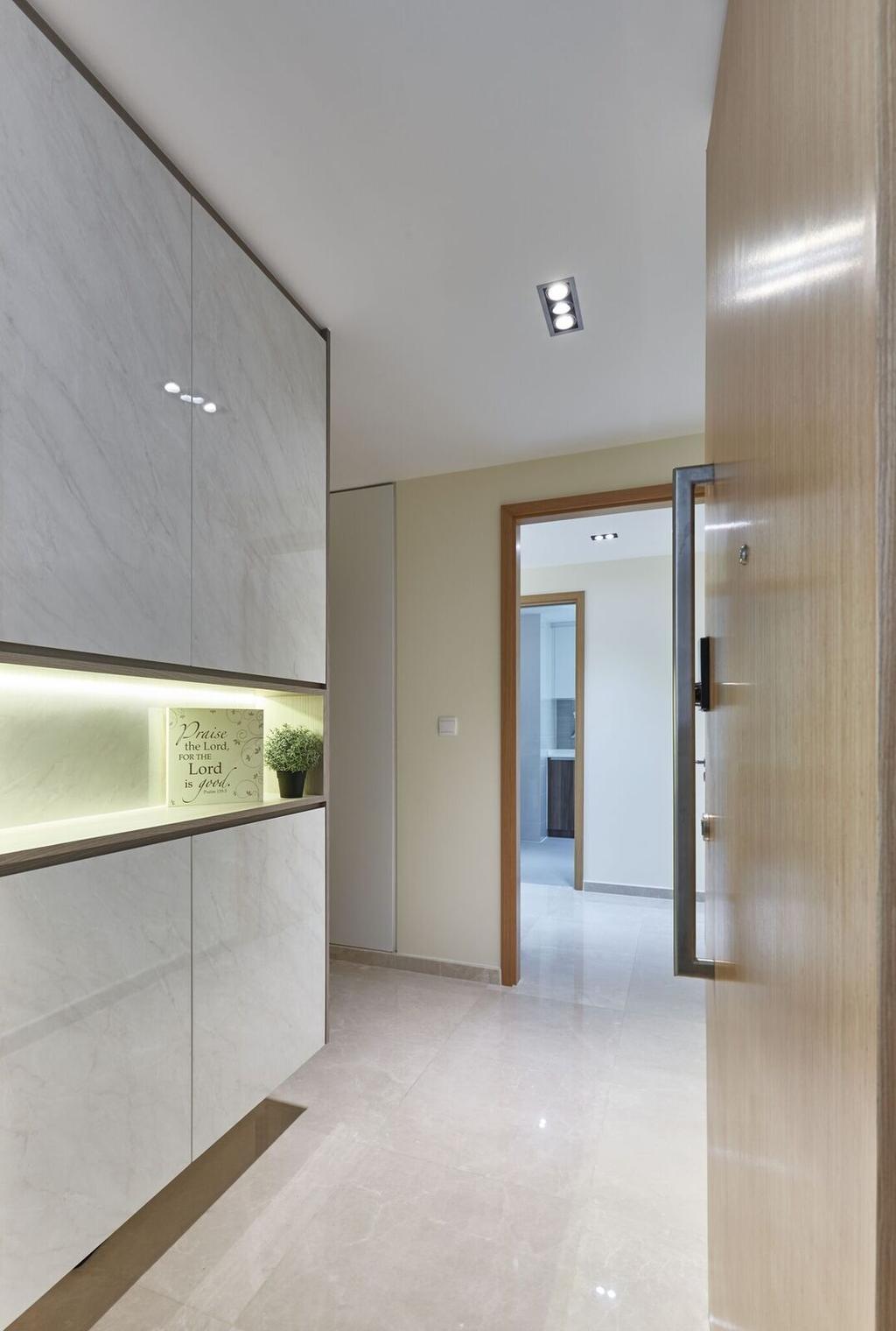 Contemporary, Condo, Living Room, The Glades, Interior Designer, Charlotte's Carpentry