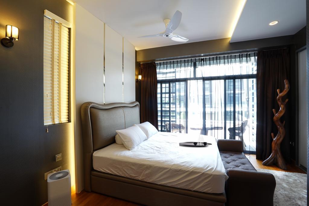 Contemporary, Landed, Bedroom, Luxus Hills, Interior Designer, Metamorph Design