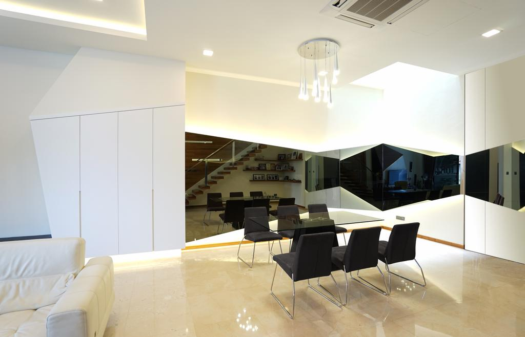 Contemporary, Landed, Dining Room, Bowmont Gardens, Interior Designer, Metamorph Design