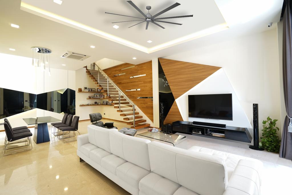 Contemporary, Landed, Living Room, Bowmont Gardens, Interior Designer, Metamorph Design