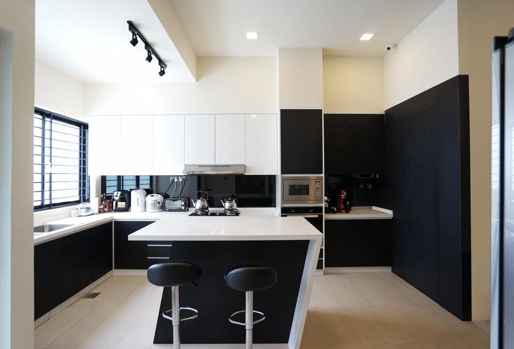 Contemporary, Landed, Kitchen, Bowmont Gardens, Interior Designer, Metamorph Design