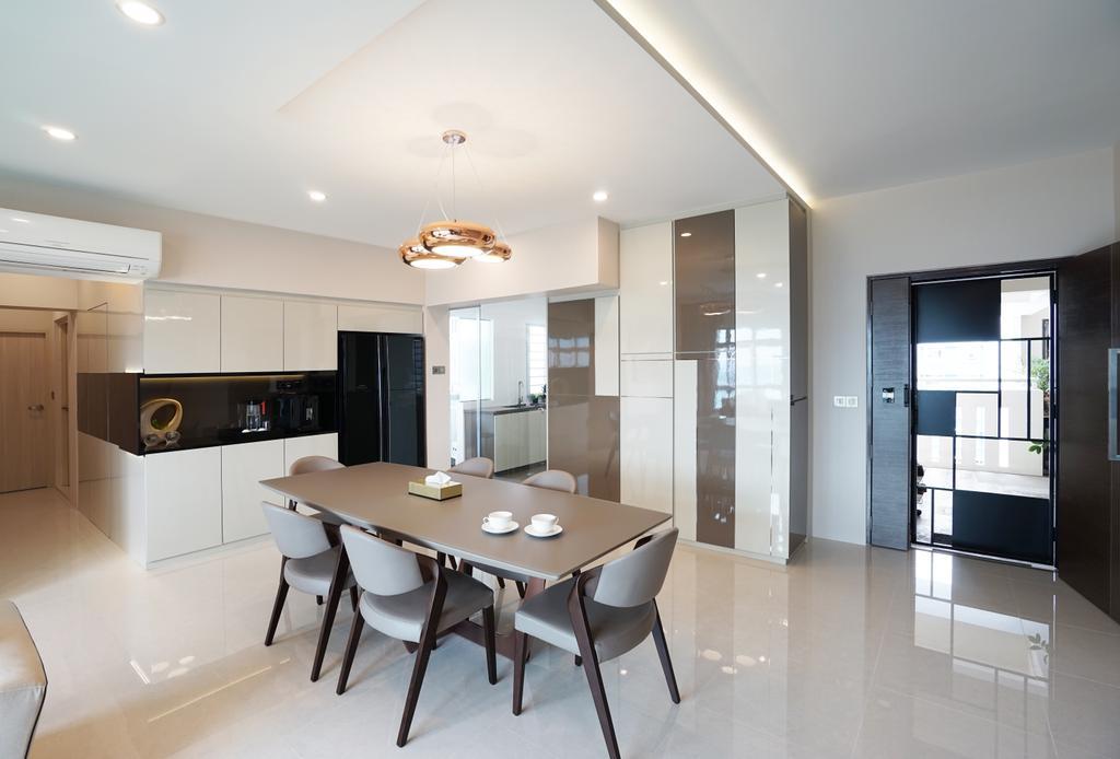 Contemporary, HDB, Living Room, Ang Mo Kio Avenue 1, Interior Designer, Metamorph Design