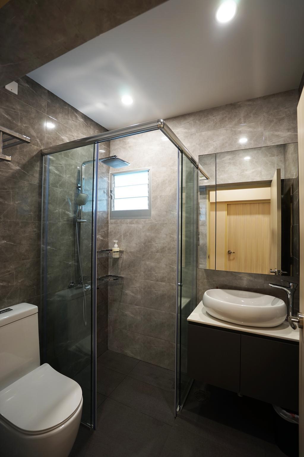 Contemporary, HDB, Bathroom, Ang Mo Kio Avenue 1, Interior Designer, Metamorph Design