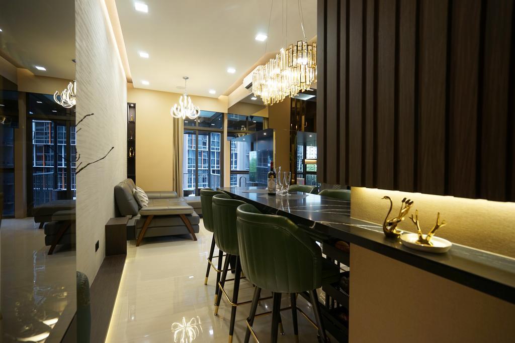 Transitional, Condo, Sims Urban Oasis, Interior Designer, Metamorph Design