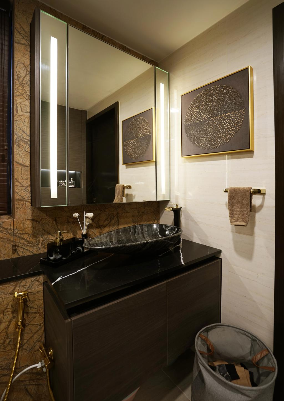 Transitional, Condo, Bathroom, Sims Urban Oasis, Interior Designer, Metamorph Design