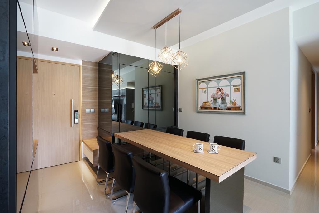 Contemporary, Condo, Dining Room, Parc Life, Interior Designer, Metamorph Design