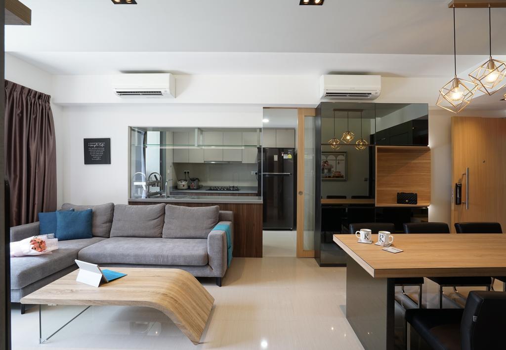 Contemporary, Condo, Living Room, Parc Life, Interior Designer, Metamorph Design