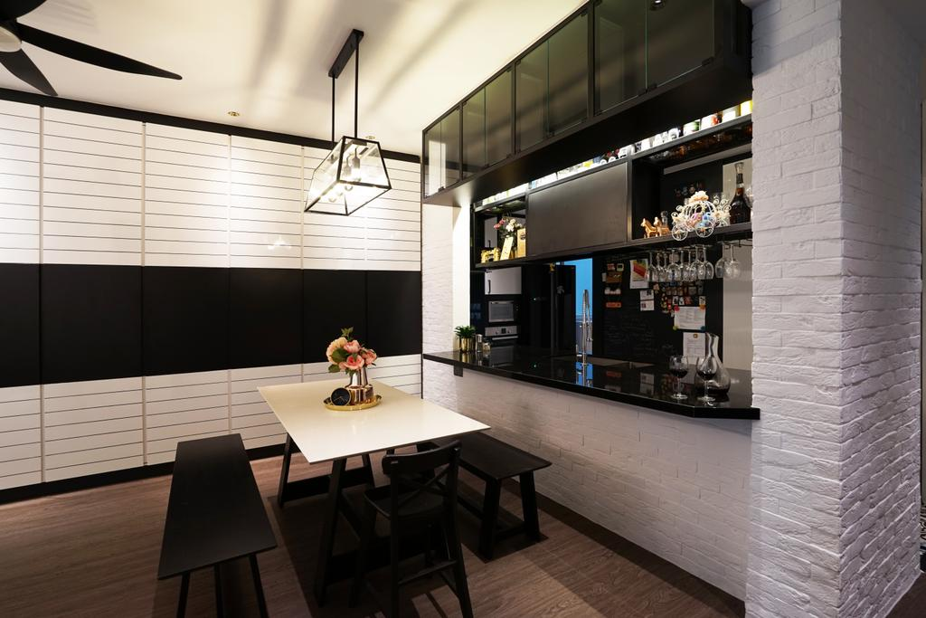Contemporary, Condo, Dining Room, Country Park, Interior Designer, Metamorph Design