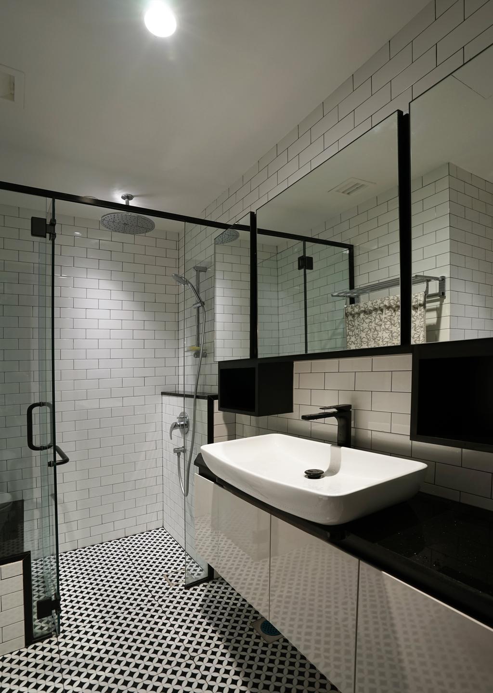 Contemporary, Condo, Bathroom, Country Park, Interior Designer, Metamorph Design