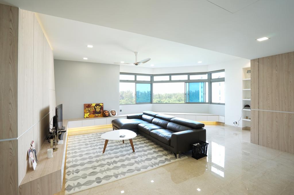 Contemporary, Condo, Living Room, The Waterside, Interior Designer, Metamorph Design