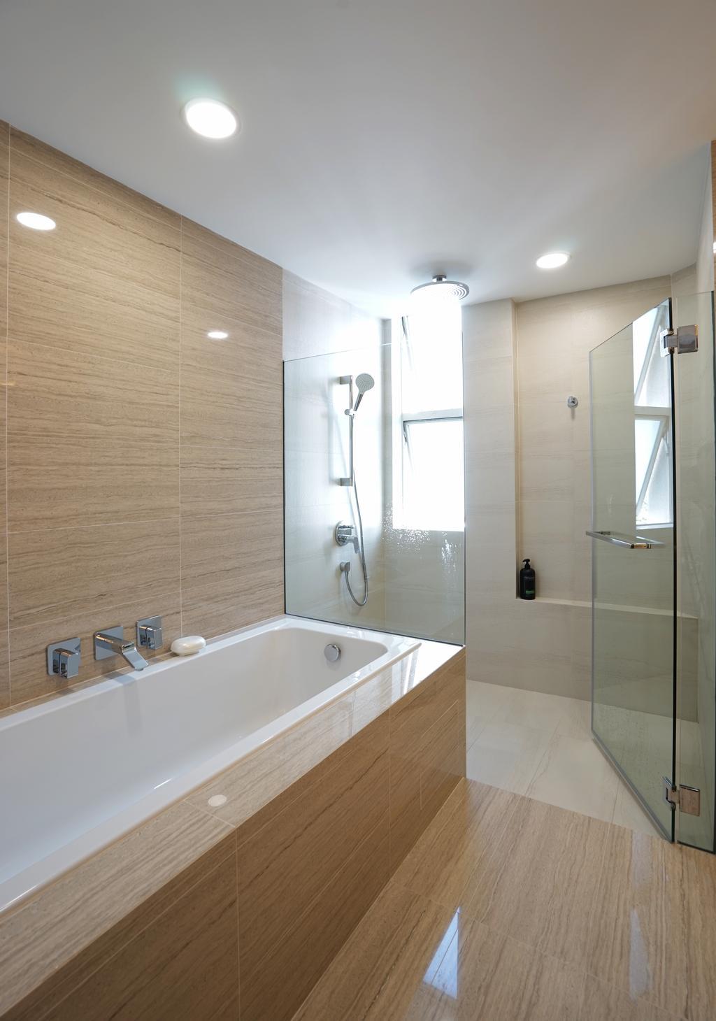 Contemporary, Condo, Bathroom, The Waterside, Interior Designer, Metamorph Design