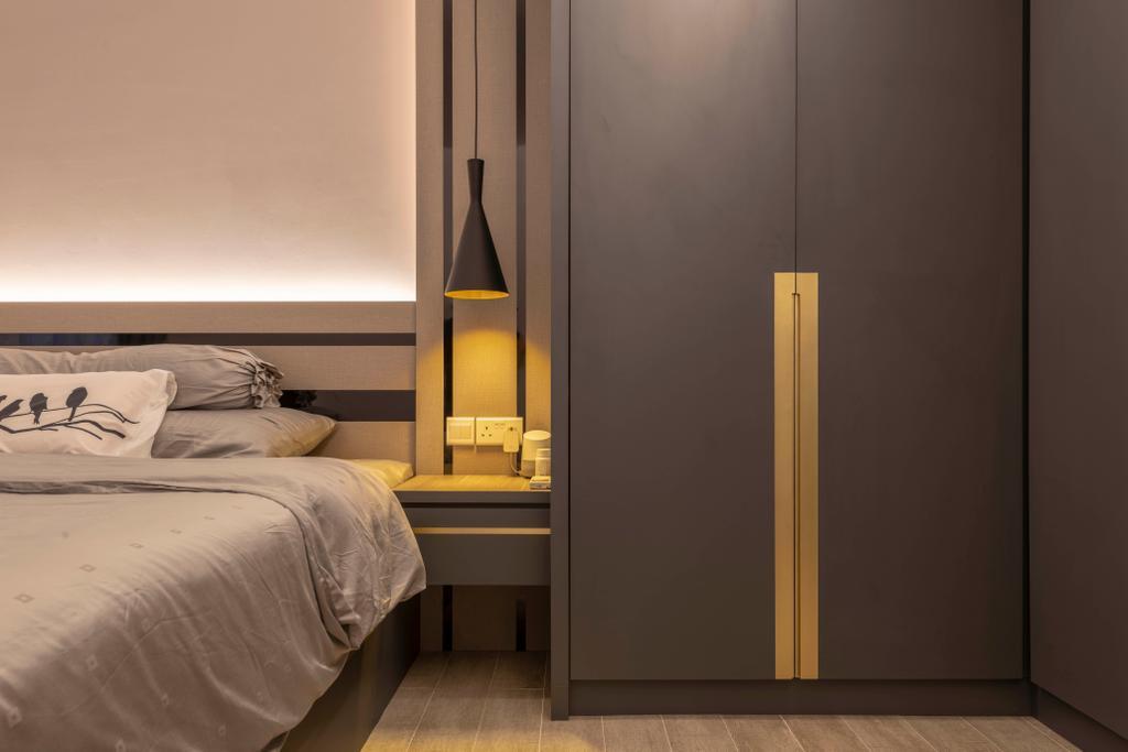 Contemporary, HDB, Bedroom, Punggol East, Interior Designer, Project Guru