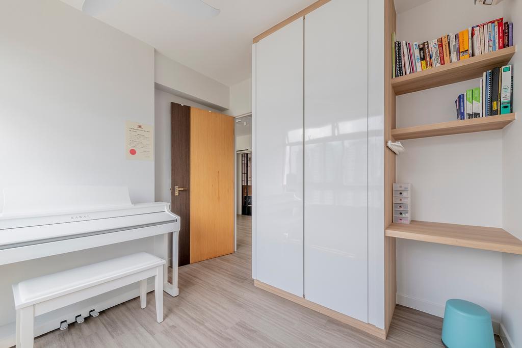Contemporary, HDB, Study, Telok Blangah Street 31, Interior Designer, Metier Planner