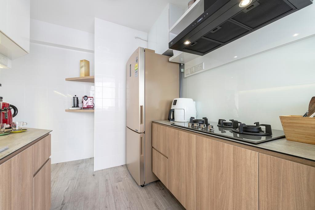 Contemporary, HDB, Kitchen, Telok Blangah Street 31, Interior Designer, Metier Planner