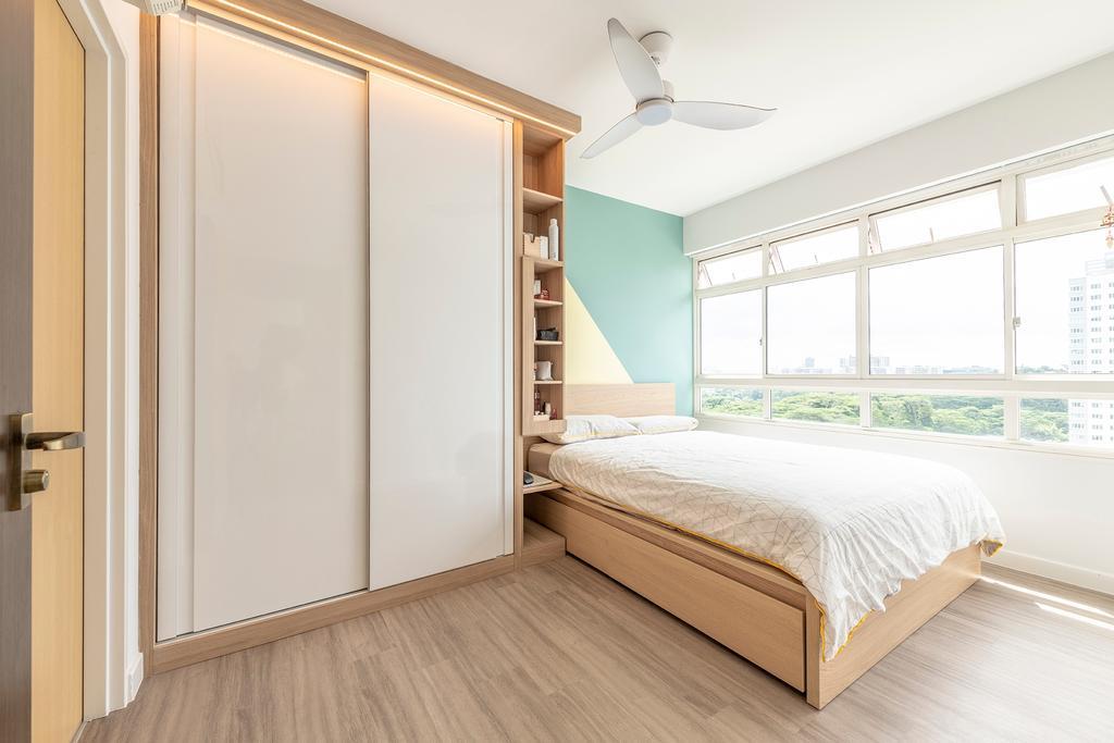 Contemporary, HDB, Bedroom, Telok Blangah Street 31, Interior Designer, Metier Planner