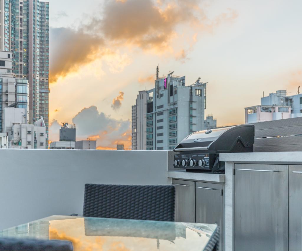 摩登, 私家樓, 露台, 西營盤, 室內設計師, Leehar Home, 當代