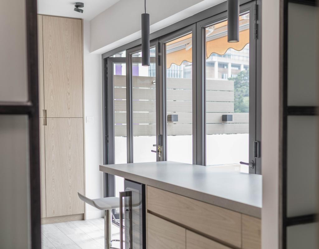 摩登, 私家樓, 廚房, 西營盤, 室內設計師, Leehar Home, 當代