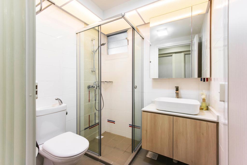 Contemporary, HDB, Bathroom, Bukit Batok West Avenue 6, Interior Designer, Flo Design