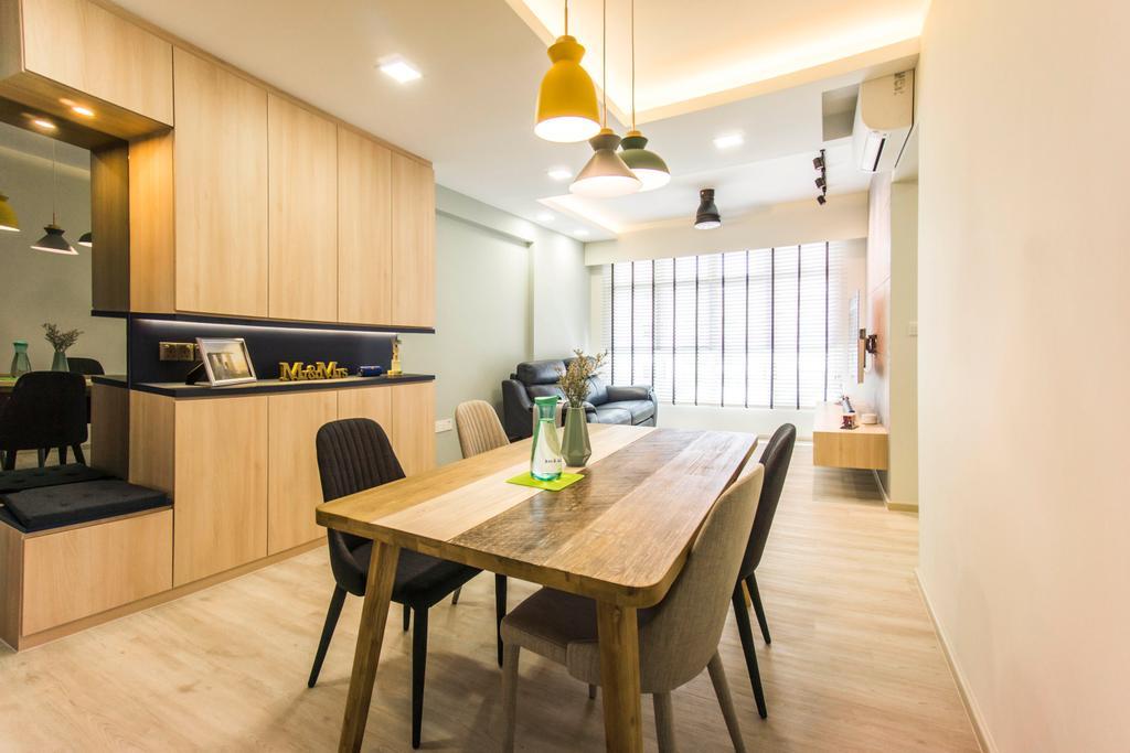 Contemporary, HDB, Bukit Batok West Avenue 6, Interior Designer, Flo Design