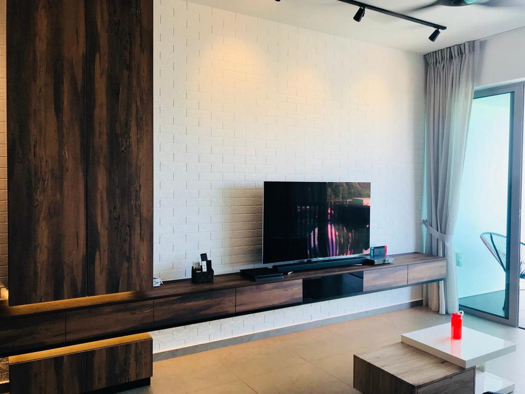 Contemporary, Condo, Living Room, The Minton, Interior Designer, Concept WX