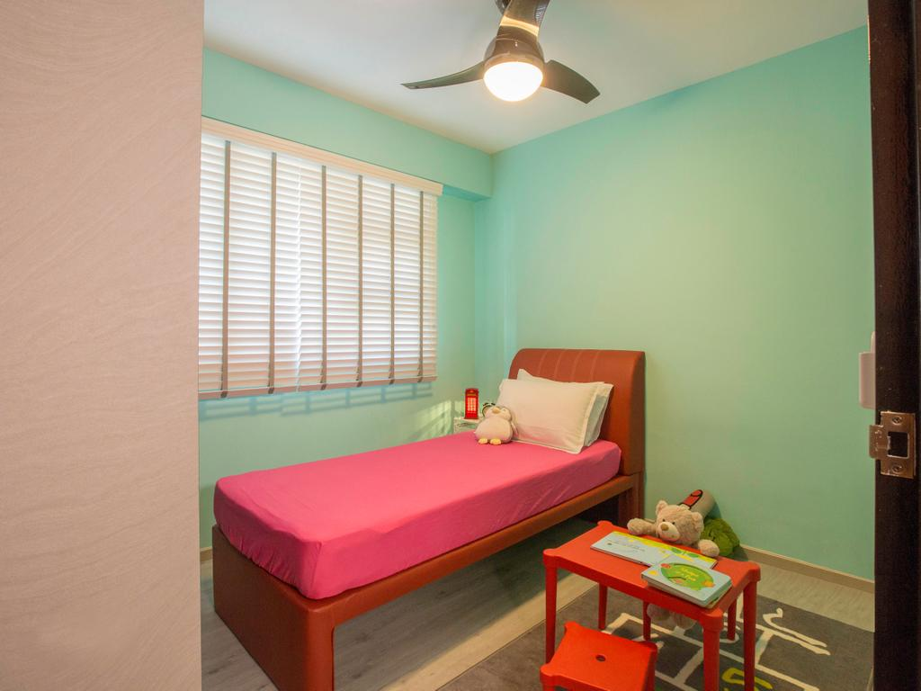 Contemporary, HDB, Bedroom, Clementi Avenue 4, Interior Designer, Urban Design House, Industrial