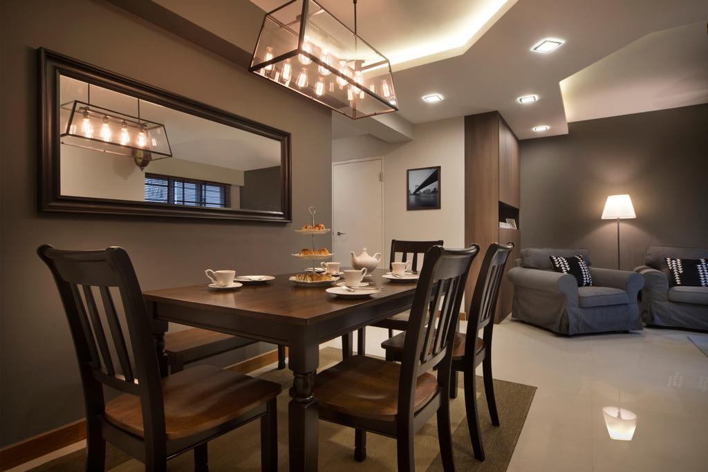 Contemporary, HDB, Dining Room, Mcnair Road, Interior Designer, Urban Design House