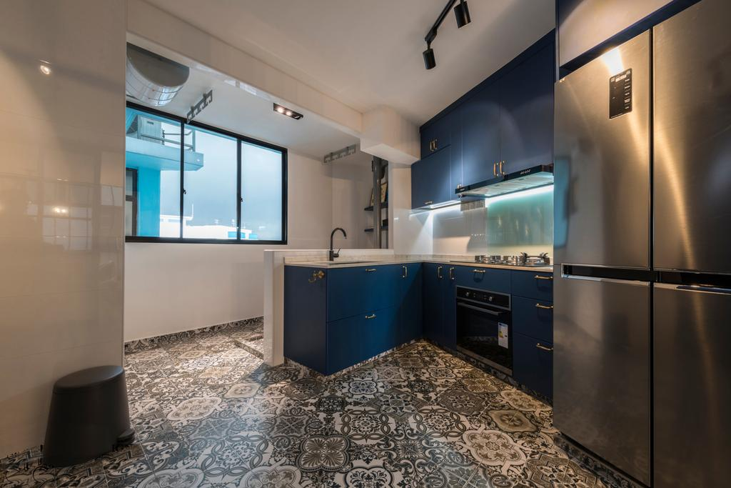 Contemporary, HDB, Kitchen, Segar Road, Interior Designer, Urban Design House