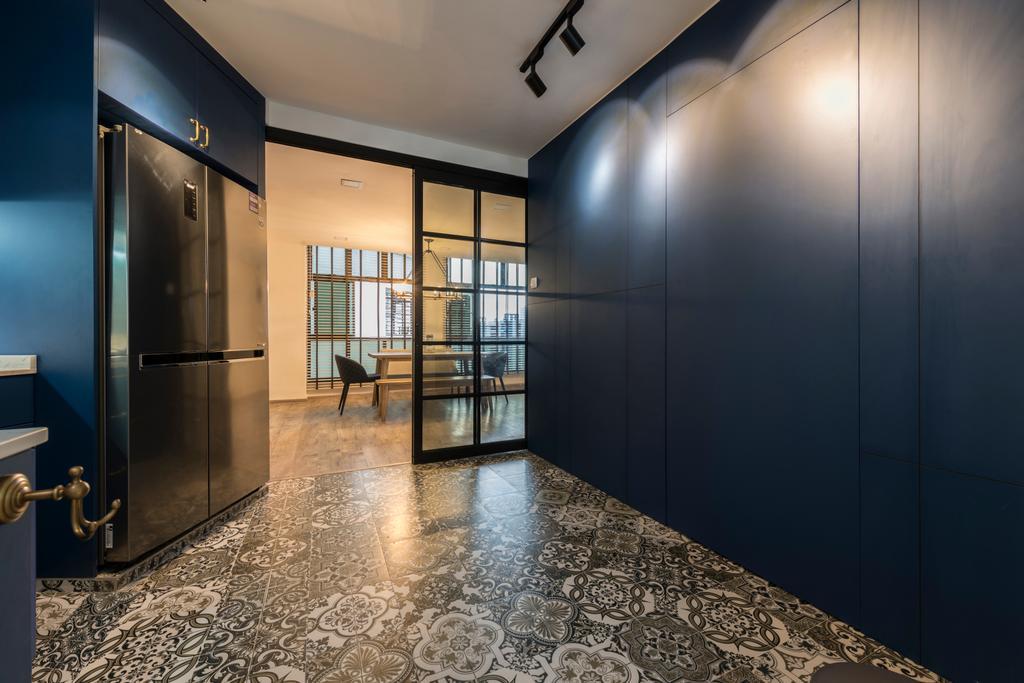 Contemporary, HDB, Kitchen, Segar Road, Interior Designer, Urban Design House