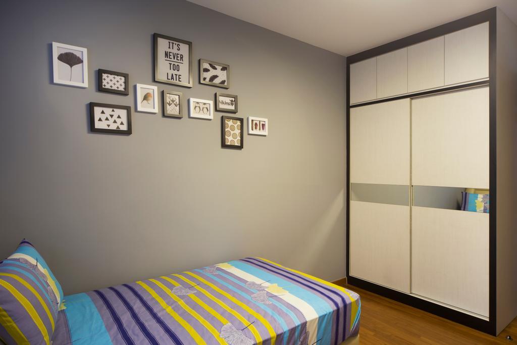 Transitional, Landed, Bedroom, Springside View, Interior Designer, Urban Design House