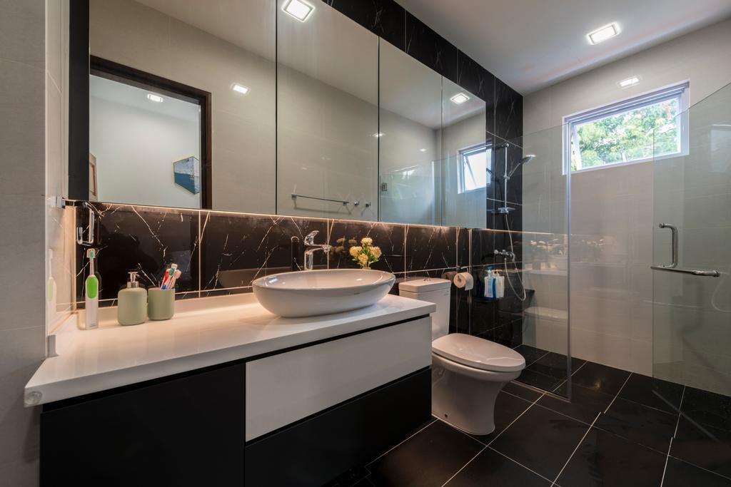 Contemporary, Landed, Bathroom, La Quinta Park, Interior Designer, Urban Design House