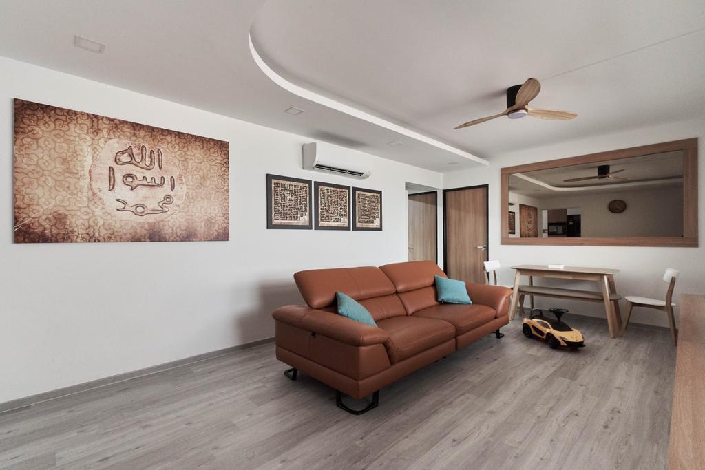 Contemporary, HDB, Living Room, Bukit Panjang Ring Road, Interior Designer, Tab Gallery
