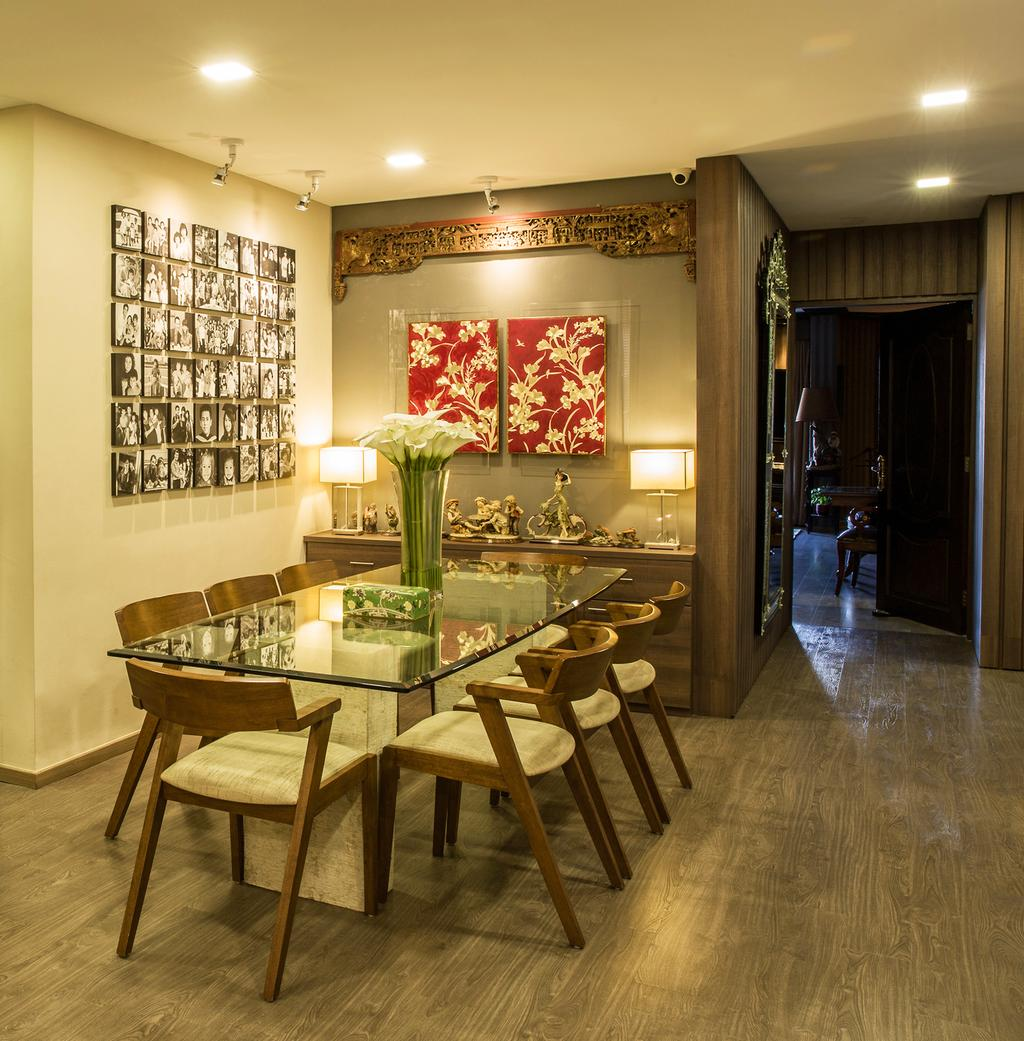 Transitional, HDB, Dining Room, Euro Asia, Interior Designer, Concept WX, Eclectic