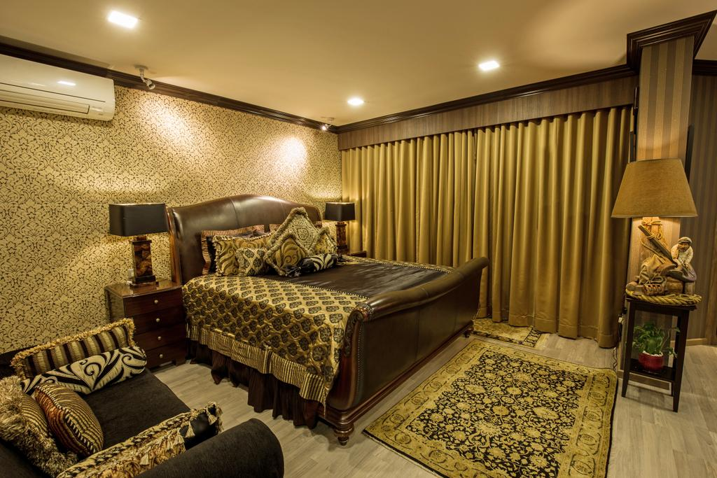Transitional, HDB, Bedroom, Euro Asia, Interior Designer, Concept WX, Eclectic