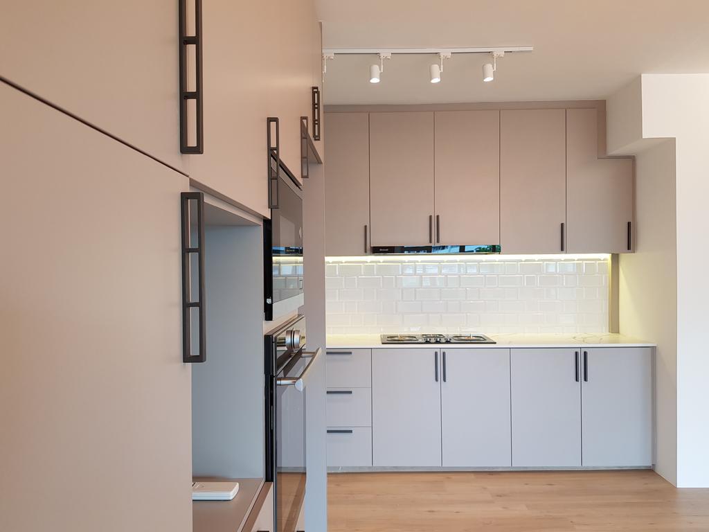 Contemporary, HDB, Kitchen, Ang Mo Kio Street 45, Interior Designer, Tid Plus Design