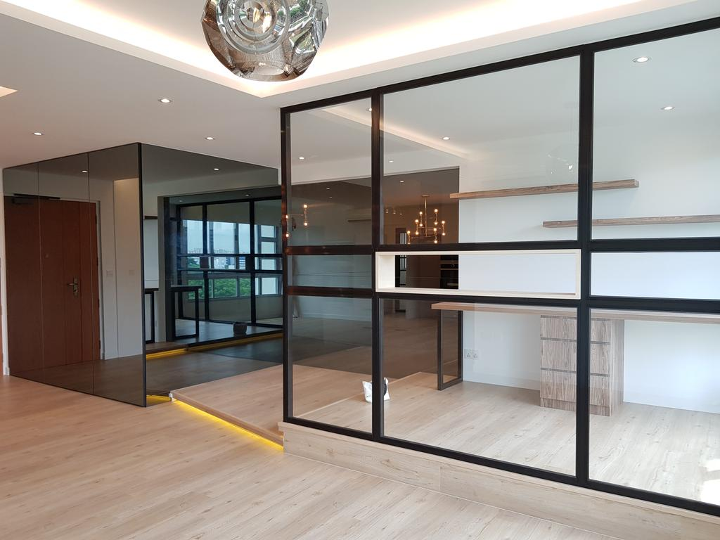 Contemporary, HDB, Ang Mo Kio Street 45, Interior Designer, Tid Plus Design