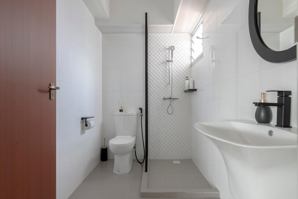 Contemporary, HDB, Bathroom, Bukit Batok East Avenue 6, Interior Designer, erstudio