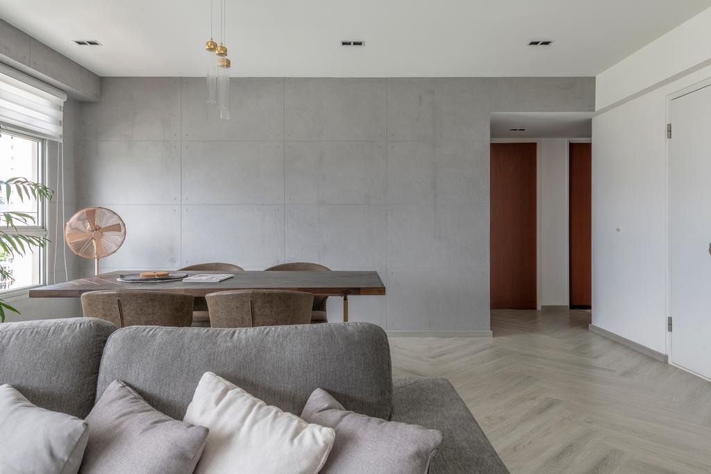 Contemporary, HDB, Living Room, Bukit Batok East Avenue 6, Interior Designer, erstudio