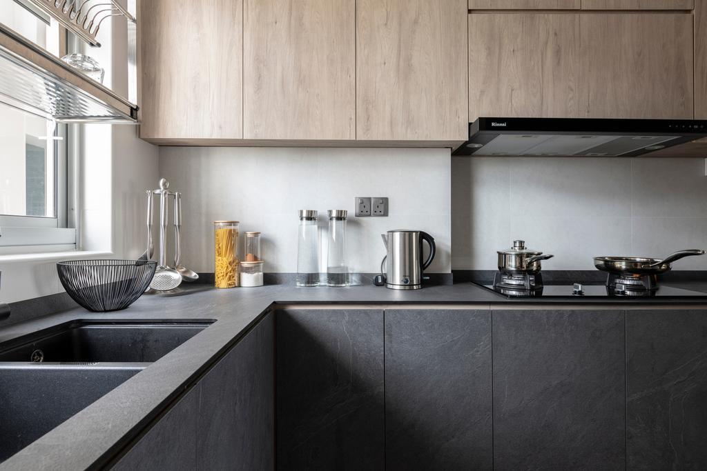 Contemporary, HDB, Kitchen, Bukit Batok East Avenue 6, Interior Designer, erstudio