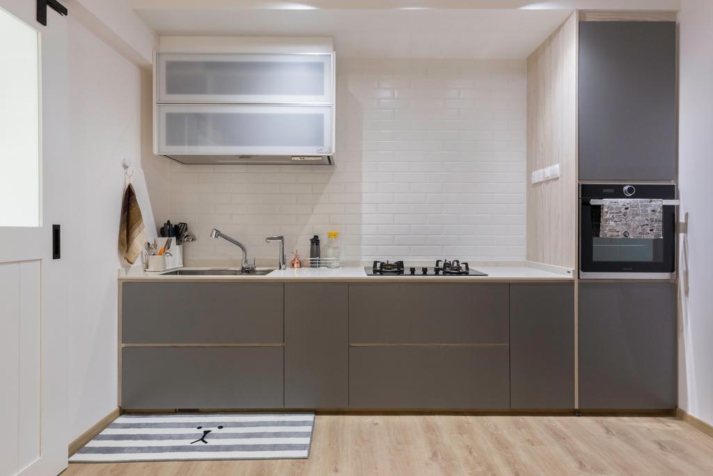 Contemporary, HDB, Kitchen, Cassia Crescent, Interior Designer, Charlotte's Carpentry
