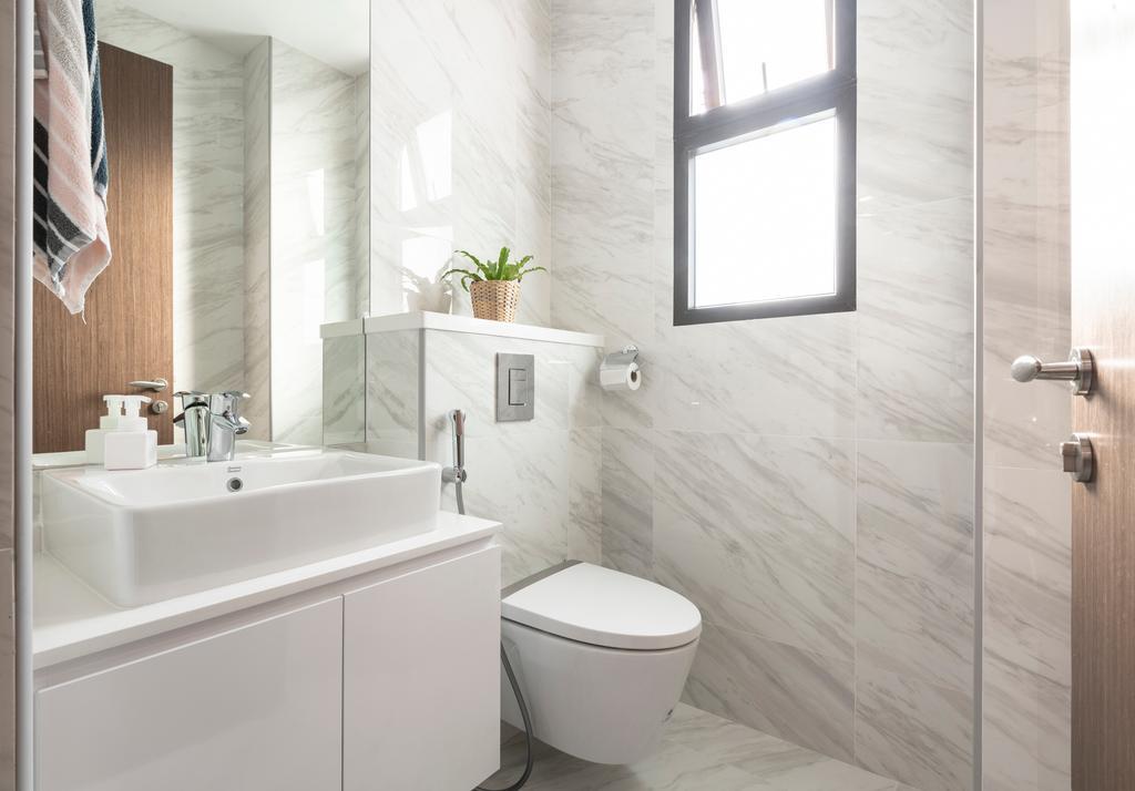 Contemporary, Landed, Bathroom, Jalan Selanting, Interior Designer, De Exclusive Design Group