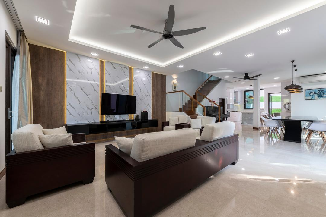 Jalan Selanting Living Room Interior Design 10