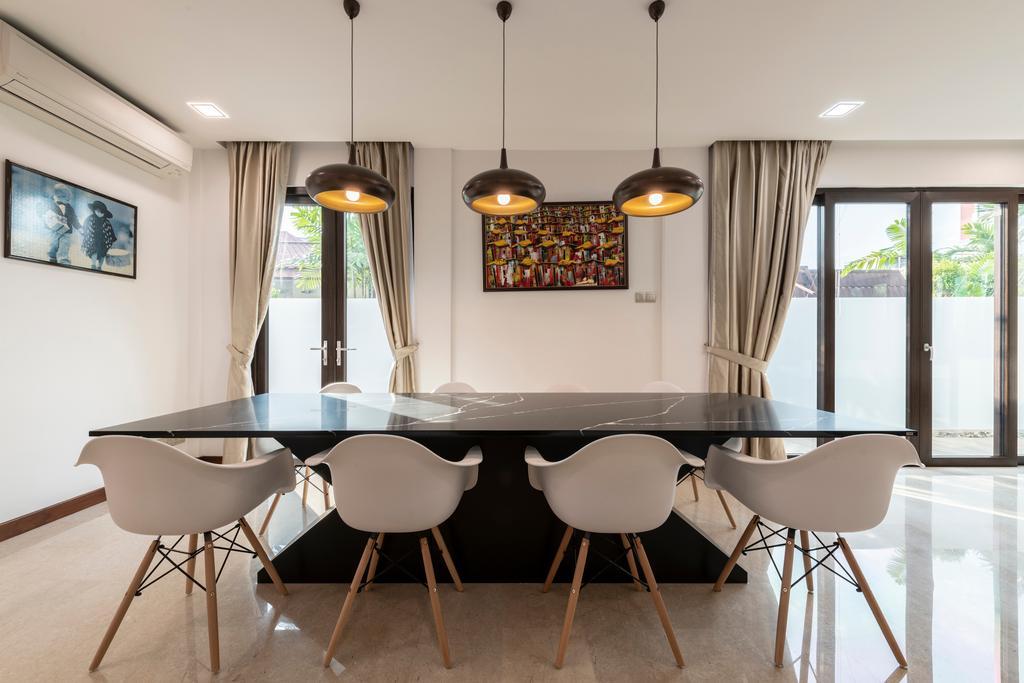 Contemporary, Landed, Dining Room, Jalan Selanting, Interior Designer, De Exclusive Design Group